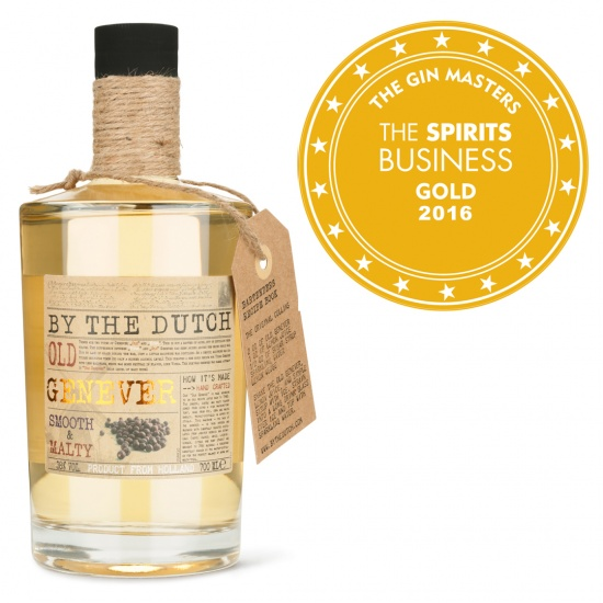 Double Gold for our Dutch Genever