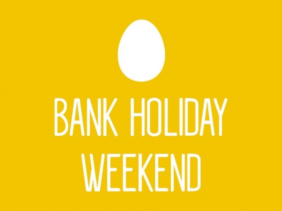 Easter Bank Holiday Weekend Closure and Delivery Dates